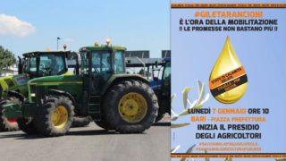 Gli agricoltori uniscono la Puglia: tutti a Bari il 7 gennaio. Ecco perché bisogna condividere la loro lotta