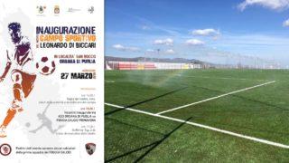 Orsara, il Foggia Calcio inaugura il nuovo campo sportivo