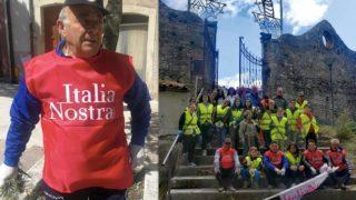 Orsara, sindaco e volontari hanno ripulito il Parco Comunale