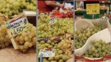 Uva regalata davanti ai supermercati, ecco dove: la protesta dei produttori pugliesi