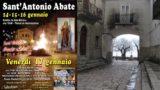 A Castelnuovo della Daunia sapori e musica coi Fuochi di Sant'Antonio
