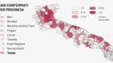 In Puglia 163 nuovi casi di Coronavirus: i dati provincia per provincia