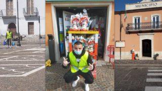 Monteleone, Giuseppe Pio festeggia i 18 anni aiutando gli anziani nella lotta contro il coronavirus