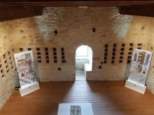 dentro il museo di Torre Alemanna