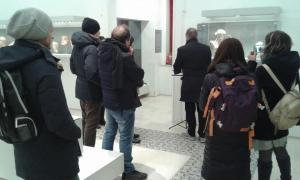 press tour Museo Fiorelli Lucera