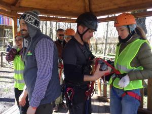 press tour Parco Avventura di Biccari