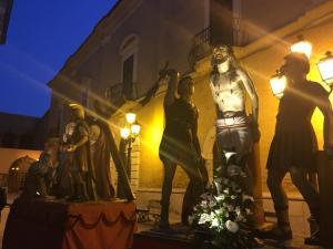 press tour Troia processione dei misteri